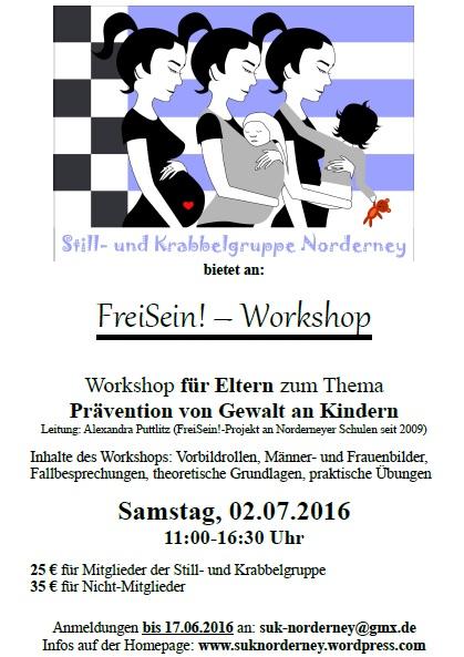 Plakat FreiSein 2